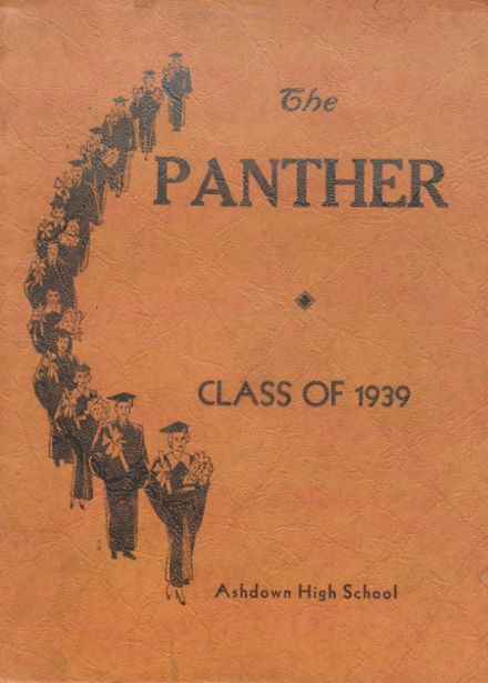 1939 Ashdown High School Yearbook Cover