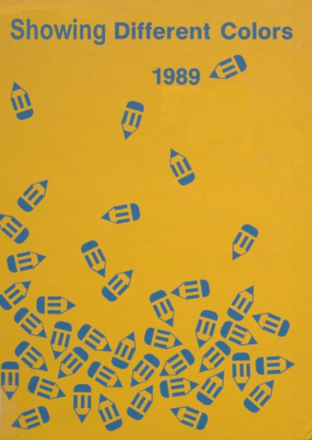 1989 Dollarway High School Yearbook Cover