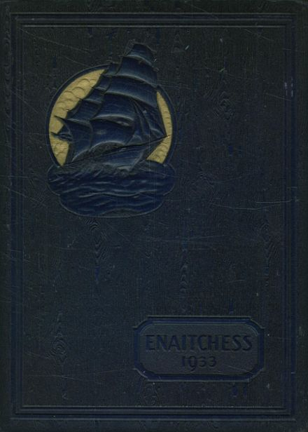 1933 Newburyport High School Yearbook Cover
