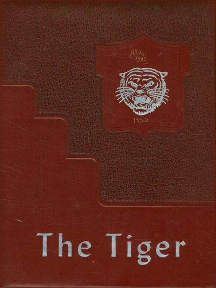 1952 Meigs County High School Yearbook Cover