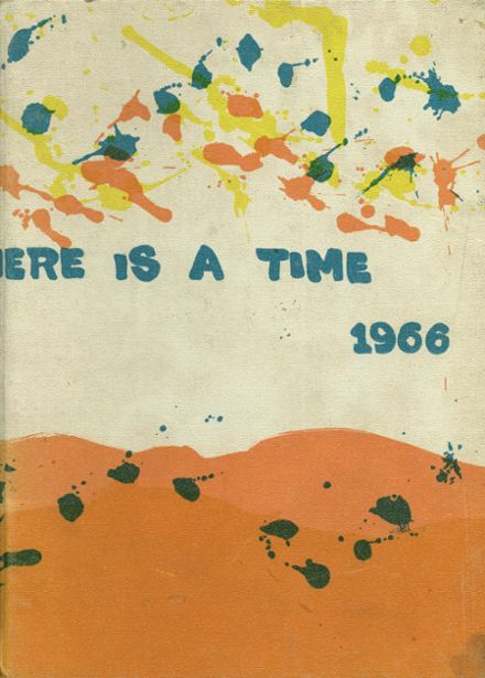 1966 Holy Cross High School Yearbook Cover