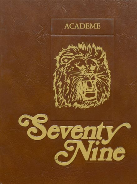 1979 Academy High School Yearbook Cover