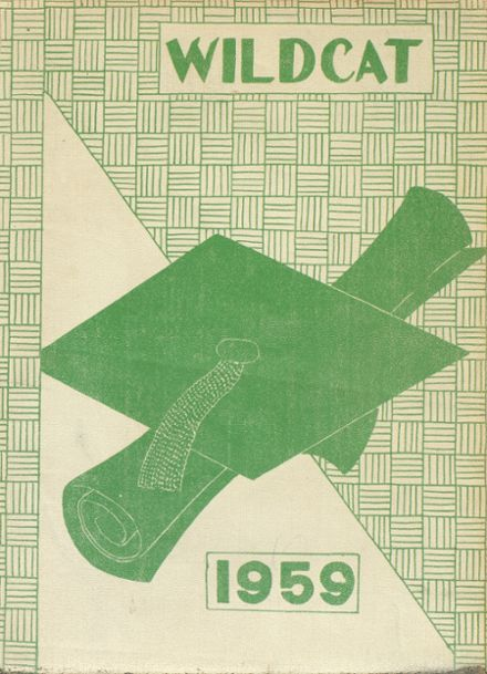 1958 Isabel High School Yearbook Cover