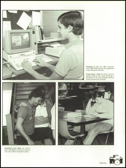 1988 Elida High School Yearbook Page 9
