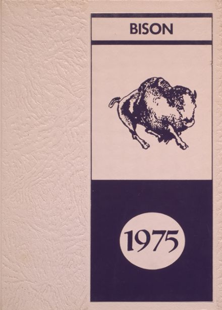 1975 Cross Plains High School Yearbook Cover