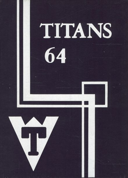 1964 Triway High School Yearbook Cover