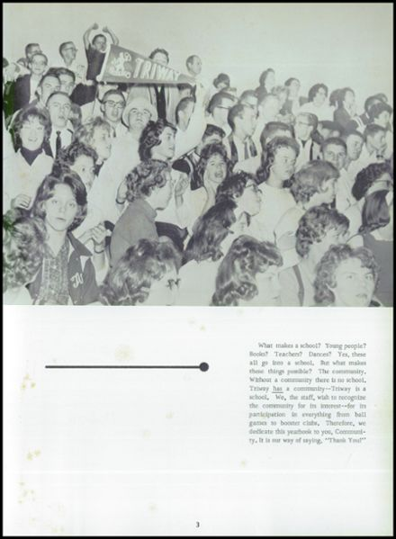 1964 Triway High School Yearbook Page 7