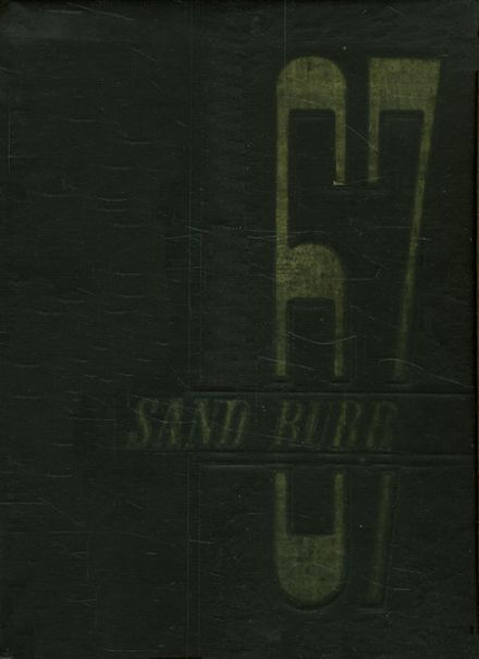 1967 Thomson High School Yearbook Cover