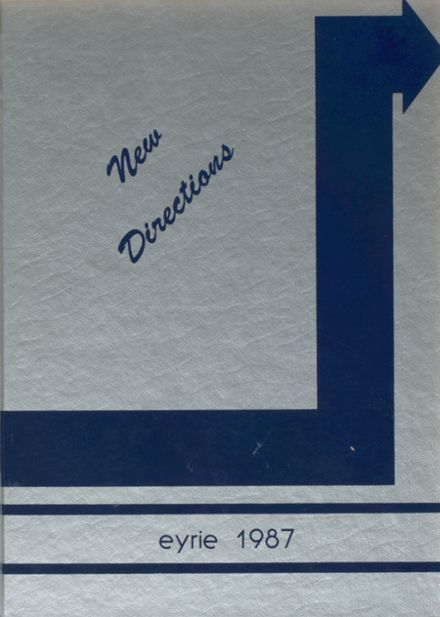1987 Tolland High School Yearbook Cover