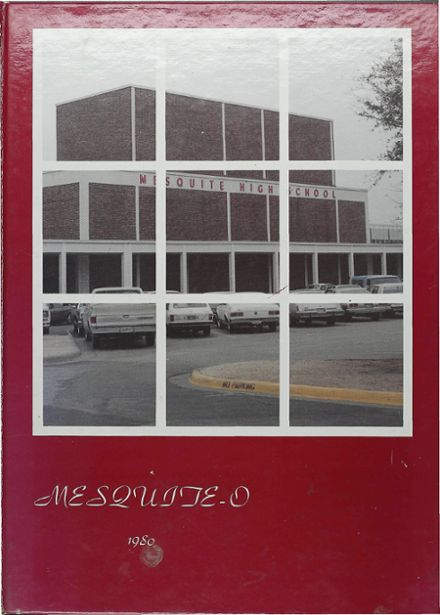 1980 Mesquite High School Yearbook Cover