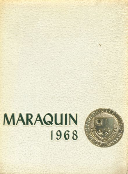 1968 St. Thomas Aquinas High School Yearbook Cover