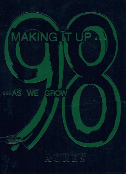 1998 Ursuline Academy Yearbook Cover