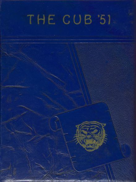 1951 Hot Springs High School Yearbook Cover