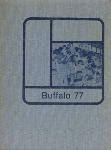 1977 Gibbon High School Yearbook Cover