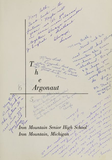 1965 Iron Mountain High School Yearbook Page 5