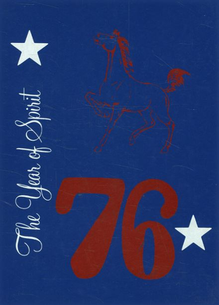 1976 Denver City High School Yearbook Cover