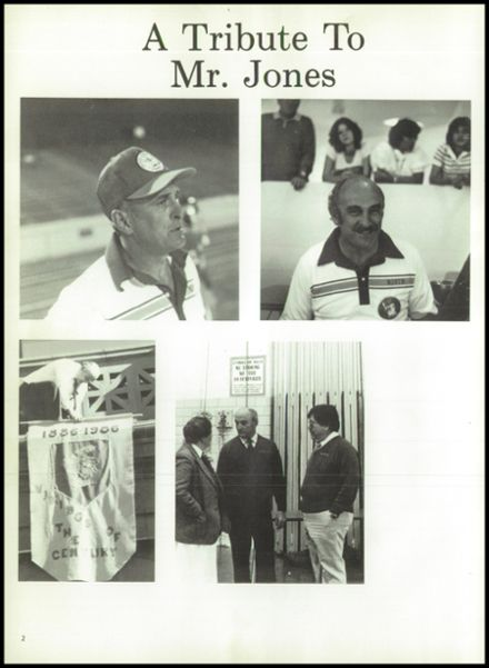 1987 North High School Yearbook Page 6