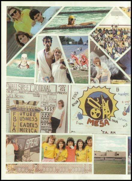 1987 North High School Yearbook Page 8