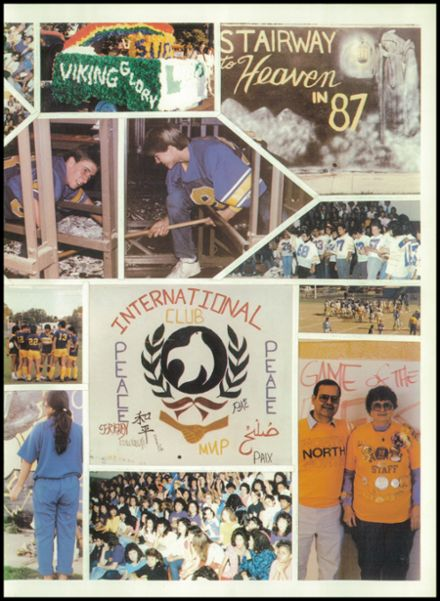 1987 North High School Yearbook Page 9