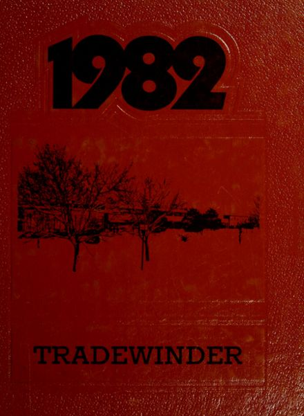 1982 North Georgia Tech High School Yearbook Cover