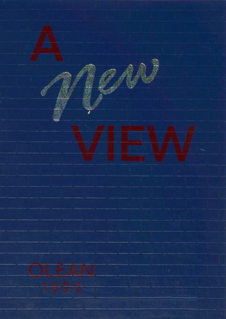 1995 Oley Valley High School Yearbook Cover
