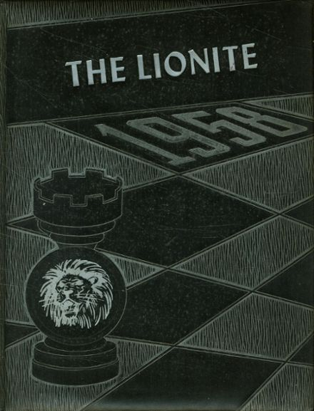 1958 Carterville Community High School Yearbook Cover