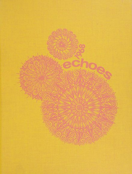 1968 Holy Names High School Yearbook Cover
