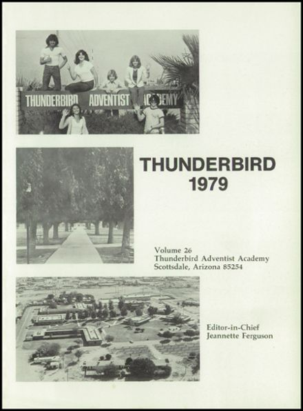 1979 Thunderbird Adventist Academy Yearbook Page 5