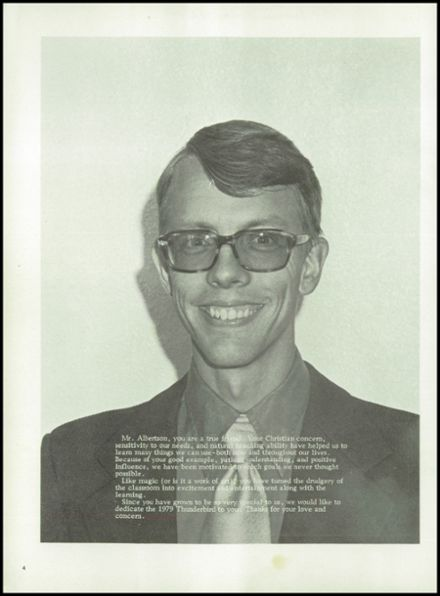 1979 Thunderbird Adventist Academy Yearbook Page 8