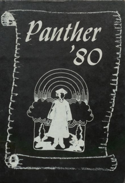 1980 Pond Creek-Hunter High School Yearbook Cover