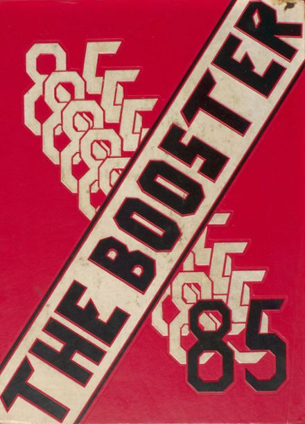 1985 Boiling Springs High School Yearbook Cover