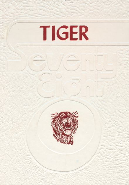 1978 Hollis High School Yearbook Cover