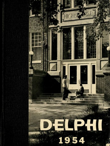 1954 Jefferson High School Yearbook Cover