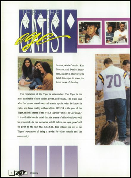 1994 St. Martinville High School Yearbook Page 8