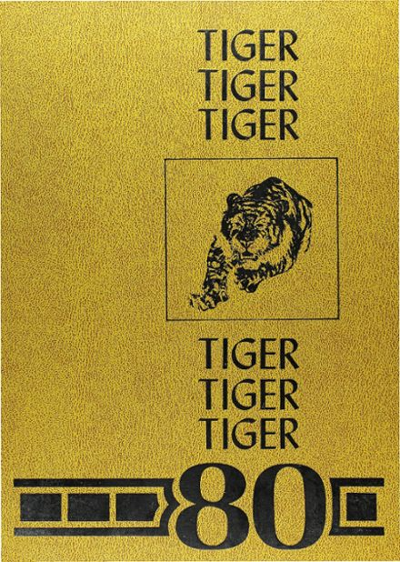 1980 Murray High School Yearbook Cover