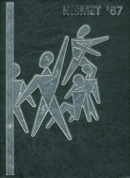 1987 Waterford Kettering High School Yearbook Cover