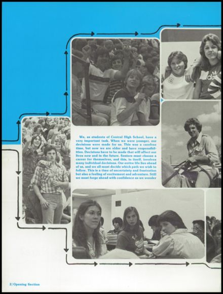 1980 Shelbyville Central High School Yearbook Page 6