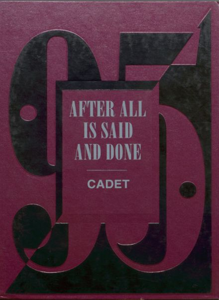 1995 West Point High School Yearbook Cover