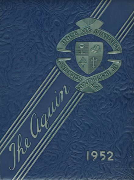 1952 St. Thomas High School Yearbook Cover