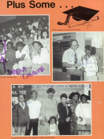 1988 Inglewood High School Yearbook Page 7