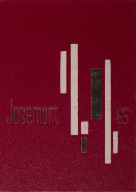 1965 St. Joseph Central Catholic High School Yearbook Cover