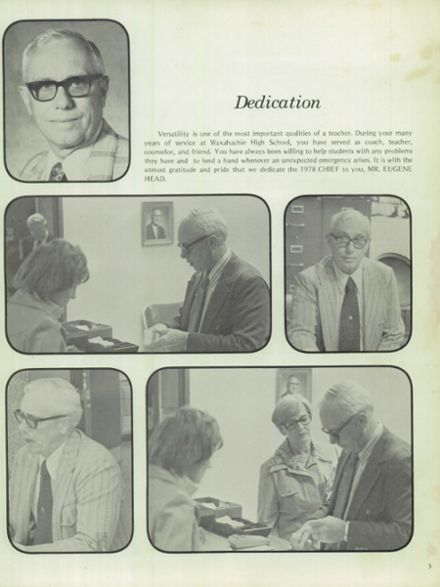 1978 Waxahachie High School Yearbook Page 7