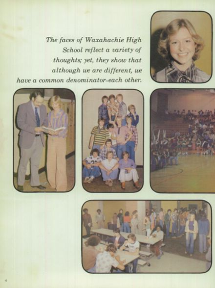 1978 Waxahachie High School Yearbook Page 8
