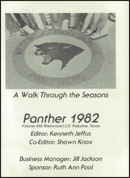 1992 Westwood High School Yearbook Page 5