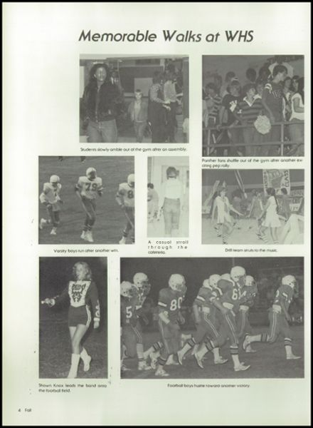 1992 Westwood High School Yearbook Page 8