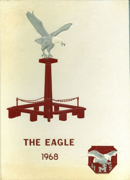 1968 Mission High School Yearbook Cover