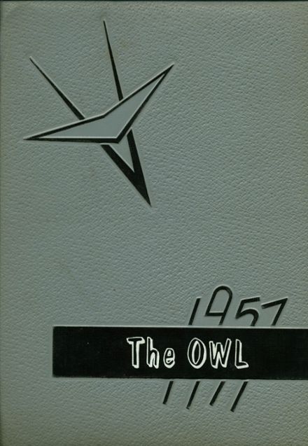 1957 Hale Center High School Yearbook Cover