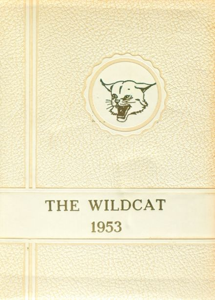 1953 Collyer High School Yearbook Cover