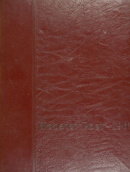 1967 James Whitcomb Riley High School Yearbook Cover