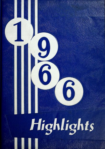 1966 Madison Township High School Yearbook Cover